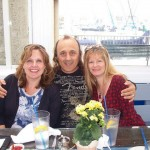 Debbie with Anthony and Tina Terezza