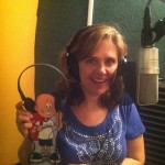 Flat Parker and Debbie in the studio!
